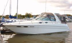 1999 Sea Ray 290 Sundancer w/Custom Trailer   This boat is fully loaded including genset and the biggest engines offered in this model. It has a full canvas package including full camper enclosure and cockpit cover. The interior and exterior have been