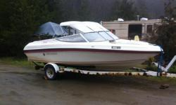 I have a 19.5' Rinker Bowrider speedboat that is fully equipped and legal for fishing & touring charters. You have your SVOP and MEDa3, love to fish & know the French Creek area, and can bring along some paying customers. Open to offers & ideas.