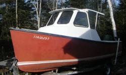 19 foot babycape and 1999 115 merc..fully fiberglass.in great shape has small cuddy with portapottie. boat is very sea worthy....great little boat..motor in great shape...sterring and controls all work great....comes with galivanise ezloader roller