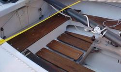 19 Foot Lightning (Mobjack) Sailboat Hull number 11070 W/ trailer and 4 sails. Have original paperwork on the boat   This Lighting sailboat has a stainless steel centerboard and teak combing. All the go fast controls that can be put on a lightning. The