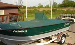 Starcraft, Holiday 19 foot. This boat has been completely refurbished including an aluminium floor. 120 hp Volvo Penta inboard /outboard, engine has 50 hrs since complete overhaul. Comes complete with all safety equipment, two battery system, live well