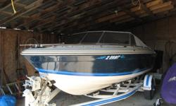 19 Foot Thundercraft  I.O. with V-6, 3.8 engine.  New tops and upholstry.  Well maintained and in great condition.  Comes with trailer.  $5300.00 OBO  Has been winterized.