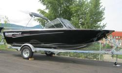 """This boat has a 14 degree hull that allows you to play on the river and also can handle the Lake.  UHMW keel plate, 1/4"""" 6061 internal keel plate, FX6 Pkg, Bolster seat upgrade, 24"""" side seat. 24"""" cooler seat, motor box cushion, cockpit cover, slide rail"""