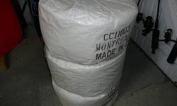 """Medium lay 1/2"""" diameter steel polypropylene in 1200 ft coils. Each coil weighs 74 lbs and is rated same as polysteel at 5100 lbs. Theses are the heaviest coils around. Polysteel is 62 lbs / coil. Aqualine is 67 lbs / coil. Cordsteel is 62 lbs / coil."""