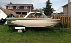 Im selling my Glastron boat very good boat it has a 85hp mercury outboard motor on the back runs great haven't had it out this year yet reason for sale bought a new boat. this boat has the power to pull a tube or kneeboard I was polling a 3 man tube last