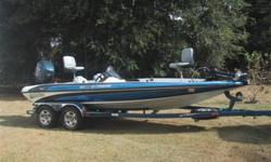 2000 Stratos 20 SS Extreme Powered By 2000 Evinrude 225 HP RAM Injection Mounted on Jack Plate w/3-blade High Performance Prop Includes 2000 Stratos Painted Custom Trailer  We are selling a 2000 Stratos 20 SS Extreme Bass Boat.  This rig is in excellent