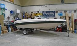 2000 Sunstream 16' Sport This quick bowrider is in very good condition and is powered by a great running 115 Evinrude. It is oil and fuel injected for trouble free, economical fun and it has been recently serviced. The boat has back to back seats that