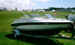 2001 Dorval 18.5 ft Bow Rider 200 hrs. 4.3 Mercury Engine New Manifold Good Condition   Call Kenny 902 566-3286