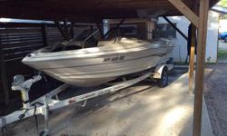 Nearly mint..2001 Larson 18 SEI....4.3 Volvo Penta inboard Larson bunk trailer....you won't find a nicer boat for this price