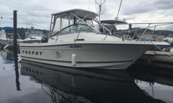 150 hp Mercury optimax with approx 180 hrs 2010 15 hp Suzuki kicker electric start 2 year old Canvas with rear door Double berth , table , portapotty 2 Scotty depth power down riggers Hardtop mounted rocket launchers Vhf Marine Bluetooth stereo lowrance