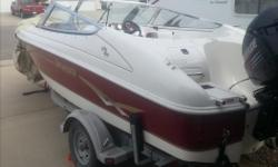 17ft Invader open bow fish and ski boat with 90hp Evinrude. Low hours on engine. Includes binimi top,travel cover,Easyloader trailer. Very good shape.Asking 9500.00 obo.