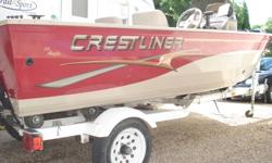 2003 Boat,2003Motor,2003Trailer -30 Johnson motor -Bilge pump -Lowrance fish finder -Locking rod locker -Two large storage lockers -Minkota trolling motor -Livewell -Interior lights/exterior lights -Horn -New side control-put on fall 2011 cost $600.00