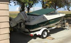For sale a 2003 17.5 ft Invade and trailer. One owner boat. Like new condition never stored out side in the winter. Fish finder, stainless prop, life jackets, etc. $11,300.00. Call 306-520-3498