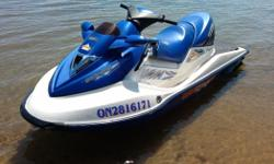 2003 Seadoo GTX Van's Triple crown wake edition. 155hp 4 stroke motor. Extra large boarding platform. Comes with cover and trailer. Text or call (705)257-6474