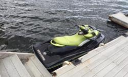 Seadoo en parfaite condition, supercharge refait a neuf, peux atteindre 72 miles a l'heure. 110 heures approx. Avec remorque. Seadoo in great condition, supercharge redone, can go up to 72 miles an hour. Approx. 110 hrs. Comes with trailer.