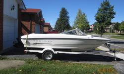 what i have is a 2004 bayliner 175 for sale mint condition not a scratch to be seen and a 2006 galvanized trailer all new carpeting and seats .this boat will be in nfld before xmas.