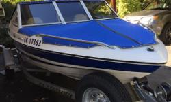 2004 Campion Allante 485S 16' bow rider with 90 hp Yamaha o/b 70 hrs on motor. Galvanized trailer, new battery, new spare tire. Stainless steel 4 blade prop stainless steel ski bar, excellent condition. New wheel bearings with bearing buddies.