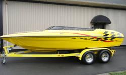 This boat is great shape and comes with, a 5.0 ltr GL Volvo, tinted low profile window, CD/I-pod stereo, stainless prop, tandem axel trailer, and depth finder, can add wake board tower for $999 Will consider all trades and financing available from $0Down
