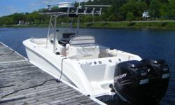 Up for sale is a 2005 Boston Whaler 270 Outrage Center Console fishing machine!( 27 feet overall) If you are a serious fisherman, this is the boat for you. Everything on the boat works and operates just like new! This boat only has 350 hours on the