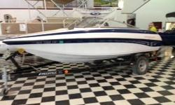 2005 Crownline 18SS, 4.3 Liter Mercruiser 190 H.P, Comes with Bimini Top, Fish Finder, and Travel/Storage Cover