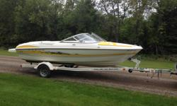2005 Maxum 1800 SR3 18 foot Plus 2 foot swim platform 92 hours 4.3 Mercruiser 220 hp fuel injected V6 Stainless steel prop Bimini top never used Bow and rear cover as well as travel cover One point drain for winterizing Summer stored in boat house Winter