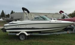 This 2005 Maxum was bought and serviced regularly with George's. It is very clean and well cared for. Please call 1-888-212-9289 for more information and to schedule a private viewing.