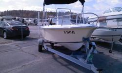 "2005 SEA-FOX 172 CC CENTER CONSOLE THIS BOAT IS LIKE NEW AND POWERED BY A 90 HP MERCURY SALTWATER OUTBOARD MOTOR . THE BOAT COMES WITH GALV.BUNK TRAILER. SPECS: BEAM 6'10"" , CENTERLINE LENGHT 17'1"" ,BRIDGE CLEARANCE 4'9.5"" ,DEADRISE 19 DEGREES, DRAFT HULL"