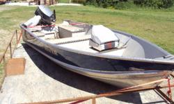 the boat is in great condition! beraly use it anymore, runs great, never had a probleme asking 3500obo$