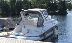 Wide Beam cruiser Twin volvo's - v6's Pristine condition - Very low hours Large sleeping accommodation 2 sets canvas - (1 set new custom made) Factory epoxy bottom (refinished) Fully equipped Air, Heat, Windlass, Spotlight, GPS plotter (Garmnin) etc.