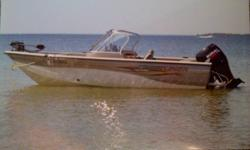 Boat has a Suzuki four stroke 90 hp. Excellent on fuel. Motorguide W55 wireless trolling motor. Has 4 movable seats. Live well. Lowrance X52 fishfinder. AM/FM CD player. Bimani top. Travel tarp. Spare tire. Boat sits on a heavy duty easyloader trailer