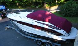 For Sale 2006 Crownline CR250 has Bravo 3 drive with 350 MAG MPI 120 hours. Loaded with options including windless. Sleeps four with everything you'll need for comfortable days and overnight on board. Stored in my garage and available for viewing anytime.