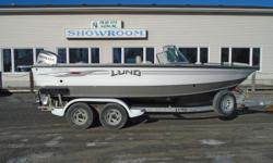 2006 Lund 2000 Fisherman This 2000 Fisherman is one of Lunds most sought after models. It has incredible big water capability but is still a maneuverable, efficient family fishing and water sports boat. It comes complete with a quiet, powerful fuel