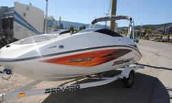 2006 Seadoo Boat for sale or partial trade. Seats 7 wake tower and Biminy top very fun. 215 HP bought a new boat and no time for two! i would like to trade up or down for a Car or SUV. let me know what you have. thanks