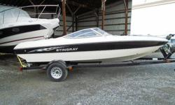 This midsize bowrider is a perfect fit for many boaters?and their pocketbooks. This is a great day boat for water sports or just relaxing on the water. Large sun pad with sport seating and two swivel bucket seats. A ventilated, in-floor ski / wakeboard