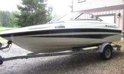This 2007 Campion is in great shape. Powered by a 4.9 liter Mercury inboard/outboard motor. A great lake boat to enjoy this summer. Price includes a 2007 EZ Loader trailer. For additional photos and information please copy and paste this address into your