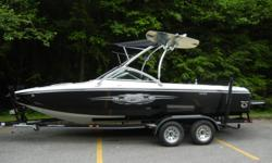 2007 Centurion Avalanche C4 towboat.Only 161 Original Hours.Ballast Tanks, Upholstery in excellent condition.Large sun pad aft.Seating for 10.Tower speakers, Engine runs strong.Boat speed 50 mph with 9 persons on board.Comes with custom trailer Black hull