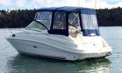 2007 Searay 240 Sundancer for Sale One of SeaRays' best seller and well powered with a 5.0L MPI Bravo III. This cruiser is virtually new with only 307hrs. It is the perfect weekender in excellent condition. This package is ready for whatever body of water