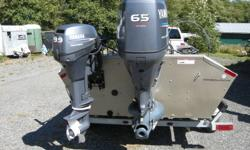 2007 yamaha G3 1860 dlx jet drive     -set up for optimal fishing -comes with three motors, low hours on motors -mint cond and comes with a galvanized trailer. -$ 19300 obo call 778 888 9111