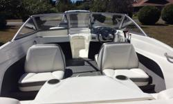 2008 175 Bayliner 50 hours in like new condition. 135 HP MerCruiser, galvaized trailer,bilg pump, oil presure speedo, tac, fuel and battry gauges. This boat has always been stored undercover and in a garage in the winter.
