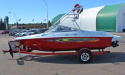 Baja 192 Islander Sport w/Mercruiser 320HP 6.2L MPI INCLUDES: Wakeboard Tower w/Speakers, Racks, Bimini Top, Depth Guage, Hydraulic Trim Tabs, Snap-in Carpet, High Five Propeller, Spare Mount, Rearview Mirror Only 10 Hours!! *Offer Expires End of Month