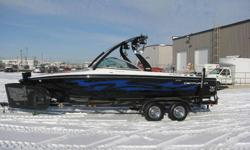 Check out this 2008 Centurion Avalanche with only 199 hrs on the Mercruiser Black Scorpion.   Perfect boat for wakesurfing, wakeboarding, wakeskating.   Immaculate shape, all the options,   Check out http://saskatoonwatersports.com/boatDetail.aspx?bID=279