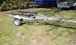 2008 Karavan boat trailer like new 12 inch tires with tongue jack will fit a up to 16.5 foot boat