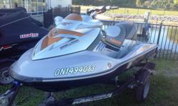 With only 73 hours this Sea-Doo is in great shape, especially as it was very well maintained. Okay, so the RXT-X has 255 horses. Handling fit for a fighter jet. High-performance features that turn a close race into a battle for second. And every inch