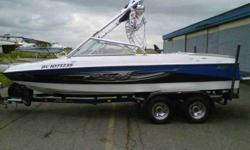 2008 Tige 20V $47,000 20' Wakeboard boat Imaculate shape 191 hours Only fresh water used Serviced at local dealer 320hp Marine Power V8 Engine Great boat for all sports, with wake versatility for wakeboarding, waterskiing, and wakesurfing Samson Razor