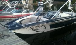 Big 24 foot 2008 Tige rz4 for sale.rated for 17 people!!! Puts out a huge wake for wakeboarding/surfing. Has 4 fill/drain switches that fill four tanks, one on each corner on the fly no messing around with manual filling!! This tow boat has a fully