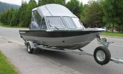 for sale 2009 harbercraft 1925 adventure with 90 horse yamaha 4 stroke outboard. call daryll at 250-280-0617 if interested
