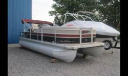 Here is your chance to own the nicest pontoon on the lake. This Premier 210 Sunsation is a 21 Foot Pontoon and is the Cadillac of all pontoon boats. This beautiful 2009 Limited edition is brand new and priced to sell. It is packaged with a brand new 2001