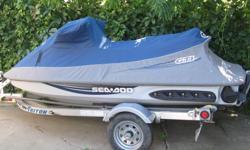 2009 SeaDoo GTI SE 155hp and trailer. 33hrs on unit, comes with both keys, very good condition , a few scratches on hood and comes with cover.
