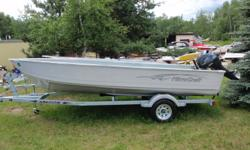 Clear Out Pricing!  2010 Mirrocraft 3672 Laker Boat Package With the Classic Mirrocraft Hull design here is a heavy duty workhorse boat that can withstand the rigors of day-in and day-out use with plenty of room! Colour: White Engine: Yamaha 30 HP 4