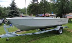 Summer Clear Out!    2010 Mirrocraft 3673 Laker Boat Package   Classic Mirrocraft Hull design here is a heavy duty workhorse boat that can withstand the rigors of day-in and day-out use with plenty of room!   Colour: White Engine: Yamaha 40 HP 4 Stroke